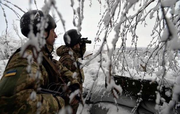Новий рік на Донбасі: поранено українського військового