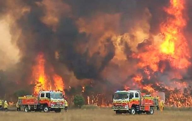 На сході Австралії через пожежі евакуюють тисячі людей