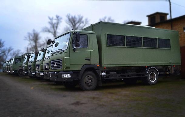 В Украине выпустили автобус для силовиков