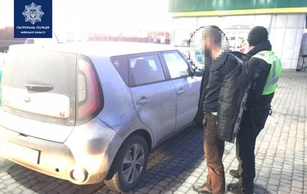 Через 100 км сховався в туалеті. На Київщині копи ганялися за наркоманом