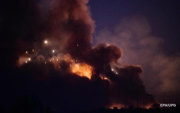 У аеропорту Багдада прогриміла серія вибухів