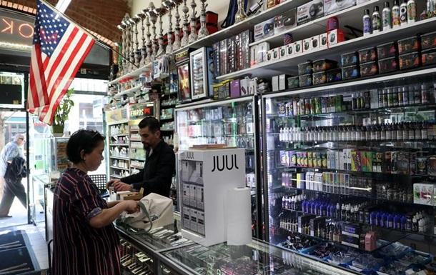 У США заборонять низку ароматів для електронних сигарет