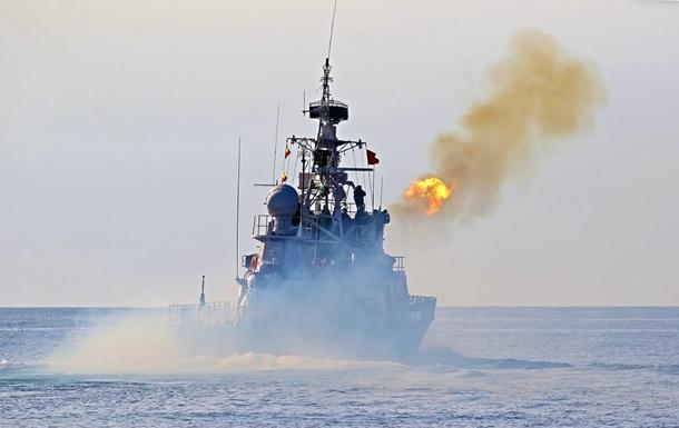 Українські кораблі морської охорони вийшли в море