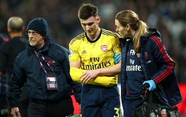 Защитник Арсенала перенес операцию и вернется на поле не раньше весны