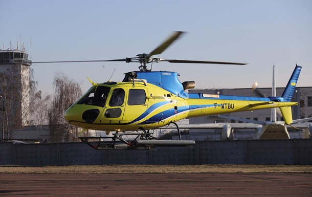 Прикордонники отримали два вертольоти Airbus H125
