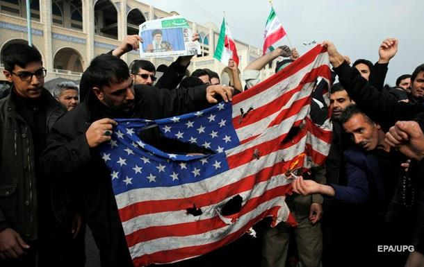 В Ірані почалися антиамериканські протести