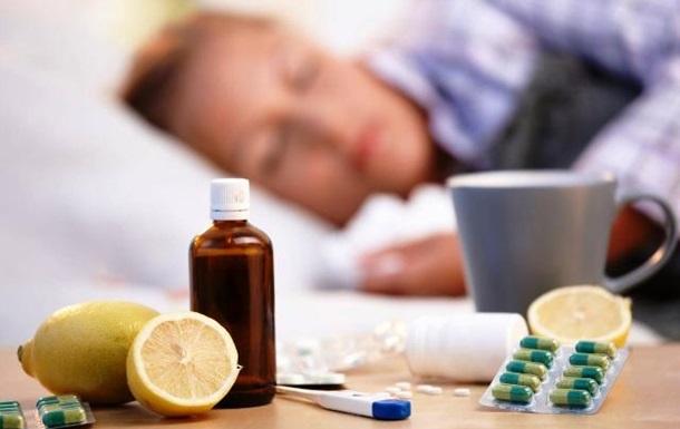 За тиждень на грип захворіли 135 тисяч українців