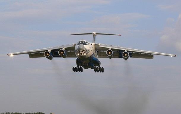 У Карпатах військові випробували літак Іл-76МД