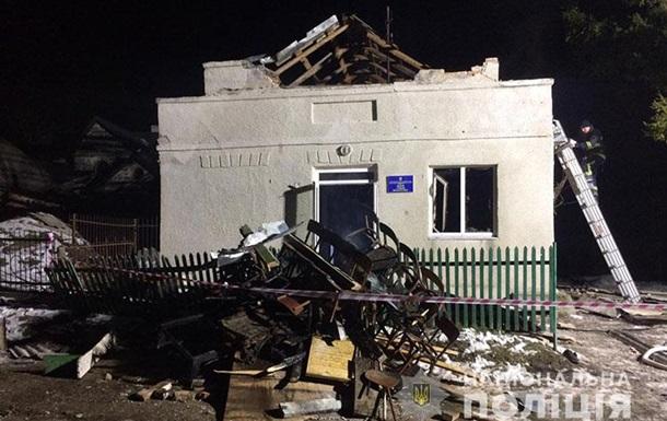 Поліція назвала причину вибуху в сільському клубі на Тернопільщині