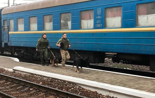 П яний чоловік  замінував  полтавський вокзал