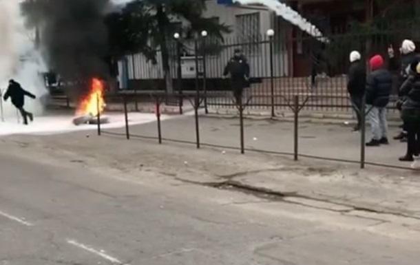 В Каховке начались протесты из-за резонансного убийства