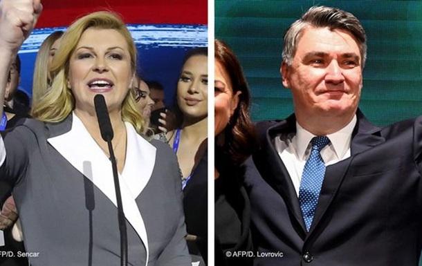 В Хорватії проходить другий тур президентських виборів
