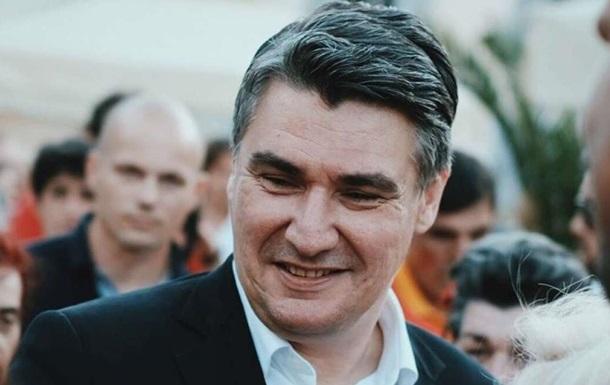 На президентських виборах в Хорватії перемагає опозиційний кандидат