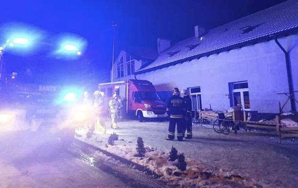 Пожар в хосписе в Польше: есть погибшие