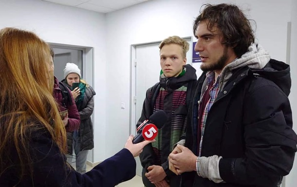 На выступлении российской блогерши в Киеве случилась потасовка