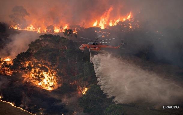 Пожежі в Австралії: жителям столиці рекомендують не виходити з дому