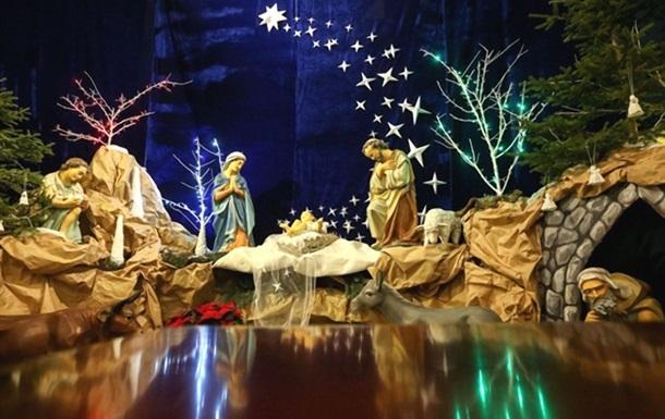 В Украине отмечается Рождество Христово