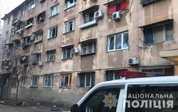 В общежитии Одессы взорвали гранату