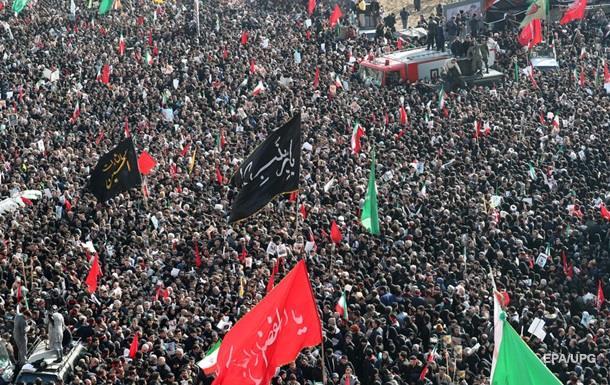 В Иране на похоронах Сулеймани погибли десятки людей
