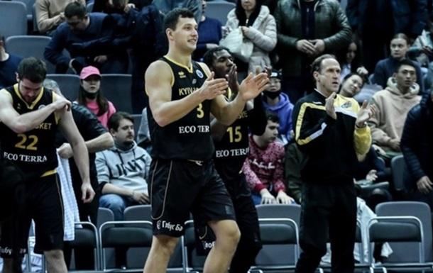Київ-Баскет обіграв Вентспілс й очолив групу Кубка Європи