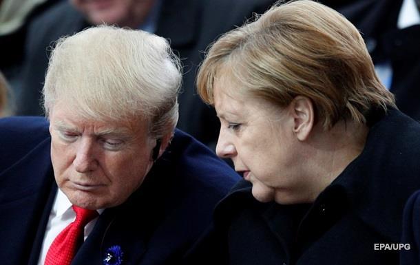 Меркель і Трамп обговорили ситуацію в Іраку й Ірані