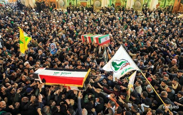 Похороны Сулеймани в Иране: число погибших превысило 50 человек