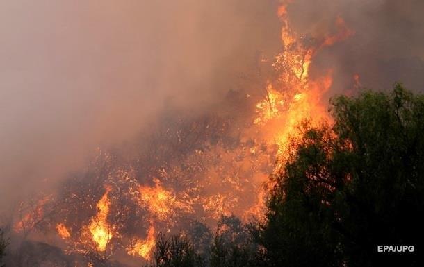 Пожар в Новой Зеландии набирает обороты