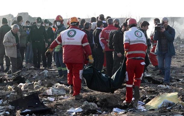 Катастрофа українського лайнера в Ірані: онлайн