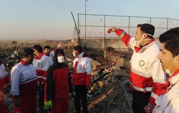 Крушении самолета МАУ в Иране