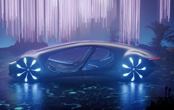 Mercedes-Benz показав авто для всесвіту Аватара