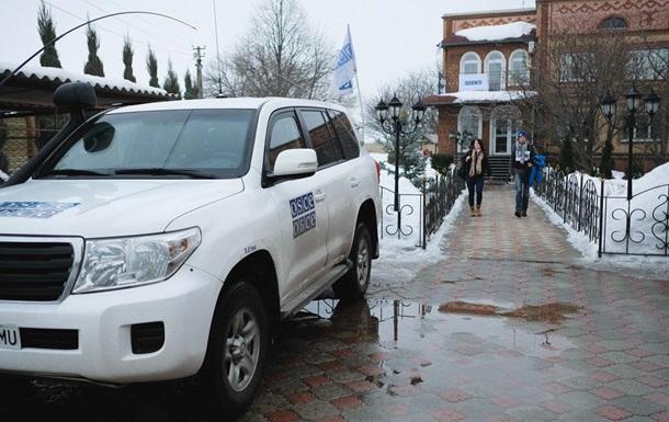 ОБСЕ нашла танки и Грады сепаратистов  ЛНР