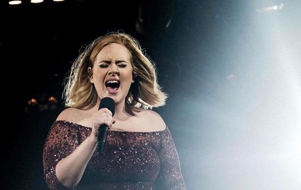 Певица Адель похудела на 20 килограммов