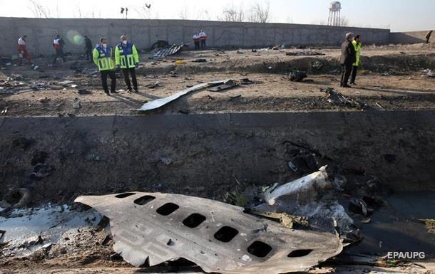З явилося відео, зняте відразу після катастрофи літака МАУ в Ірані