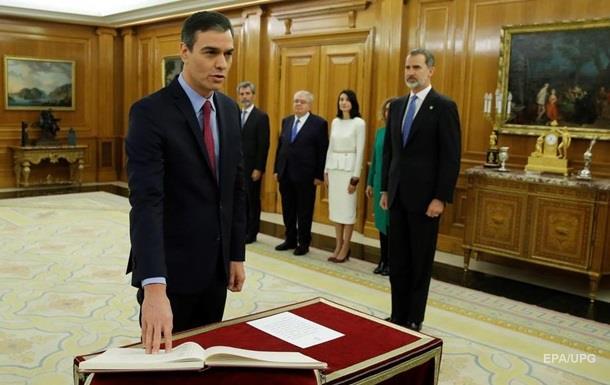 Санчес приніс присягу на посаду глави уряду Іспанії