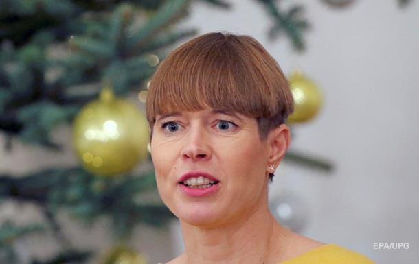 Президент Естонії відмовилася від подарованого кримського вина