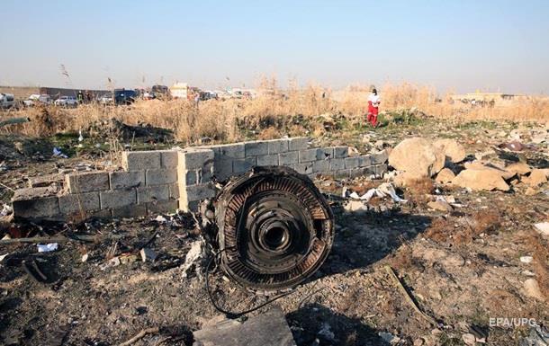 Падение МАУ в Иране 8 января