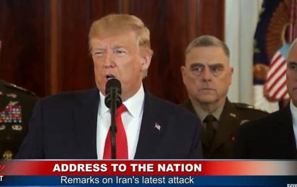 Трамп звернувся до нації після ударів Ірану