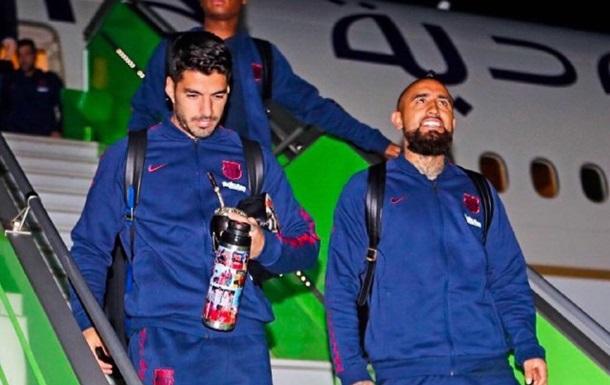 Автобус с игроками Барселоны заблудился в Саудовской Аравии