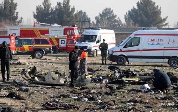 Загублена частина даних з чорних ящиків літака, що розбився - Іран