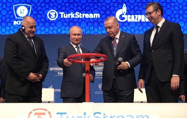 Турецький потік діє. ГТС України втрачає південь