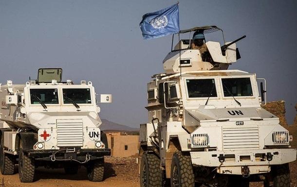 У Малі 18 миротворців ООН постраждали під час ракетного обстрілу