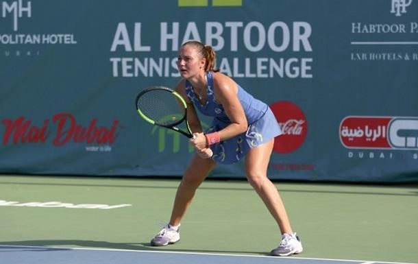 Бондаренко остановилась в шаге от полуфинала турнира в Шэньчжэне