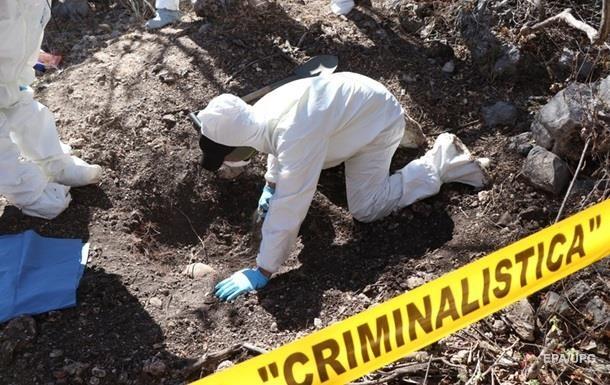У Мексиці знайшли масове поховання: піднято 18 тіл