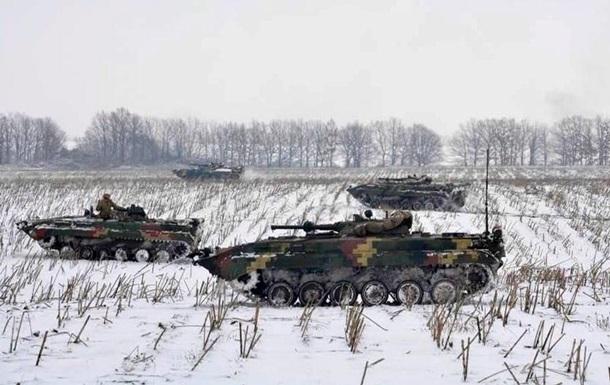 Десантники провели учения в зоне ООС