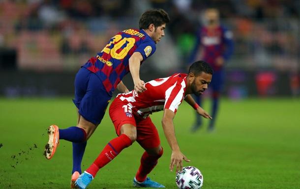 Барселона - Атлетіко 2:3. Огляд півфіналу Суперкубка Іспанії