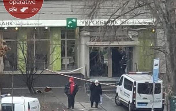 В Киеве взорвали банкомат Укрсиббанка