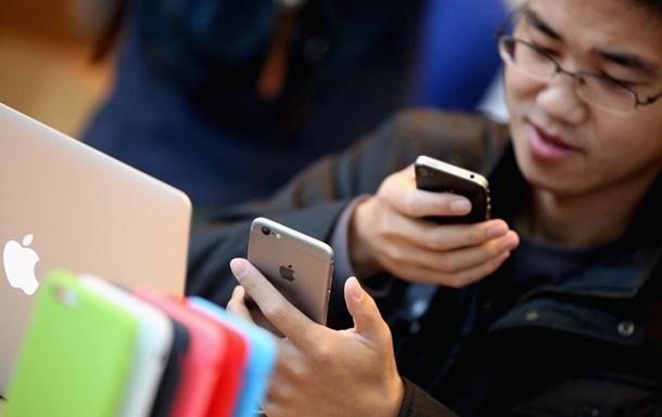 Apple установила рекорд продаж iPhone в Китае
