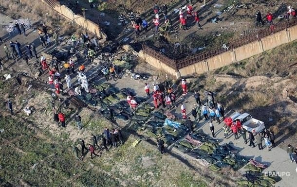 МАУ: Большинство тел погибших похоронят в Иране