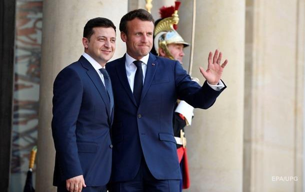 Макрон приедет в Украину - Офис президента