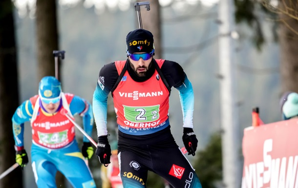 Оберхоф: Фуркад выиграл масс-старт, Пидручный занял 15-е место